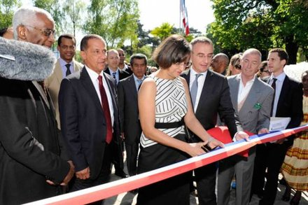 Inauguration dle 9 avril 2011 - Photo France Guyane
